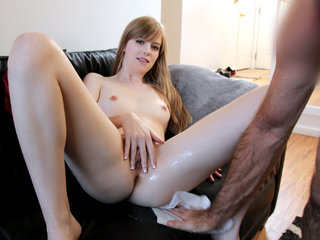 Sexy daughter Dolly gets a hard fuck..