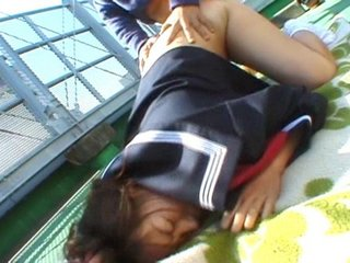 Timid Asian Coed exhibs and smashed..
